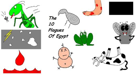 The Ten Plagues of Egypt Crafts