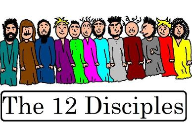 12 disciples crafts