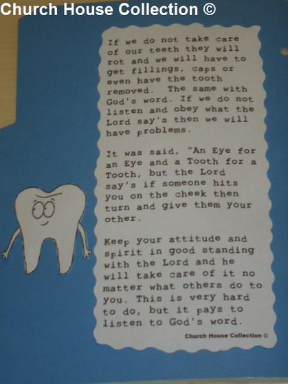An eye for an eye and a tooth for a tooth lapbook
