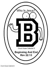 ABC's Who Is Jesus White Binder With Clear Front Pocket Template