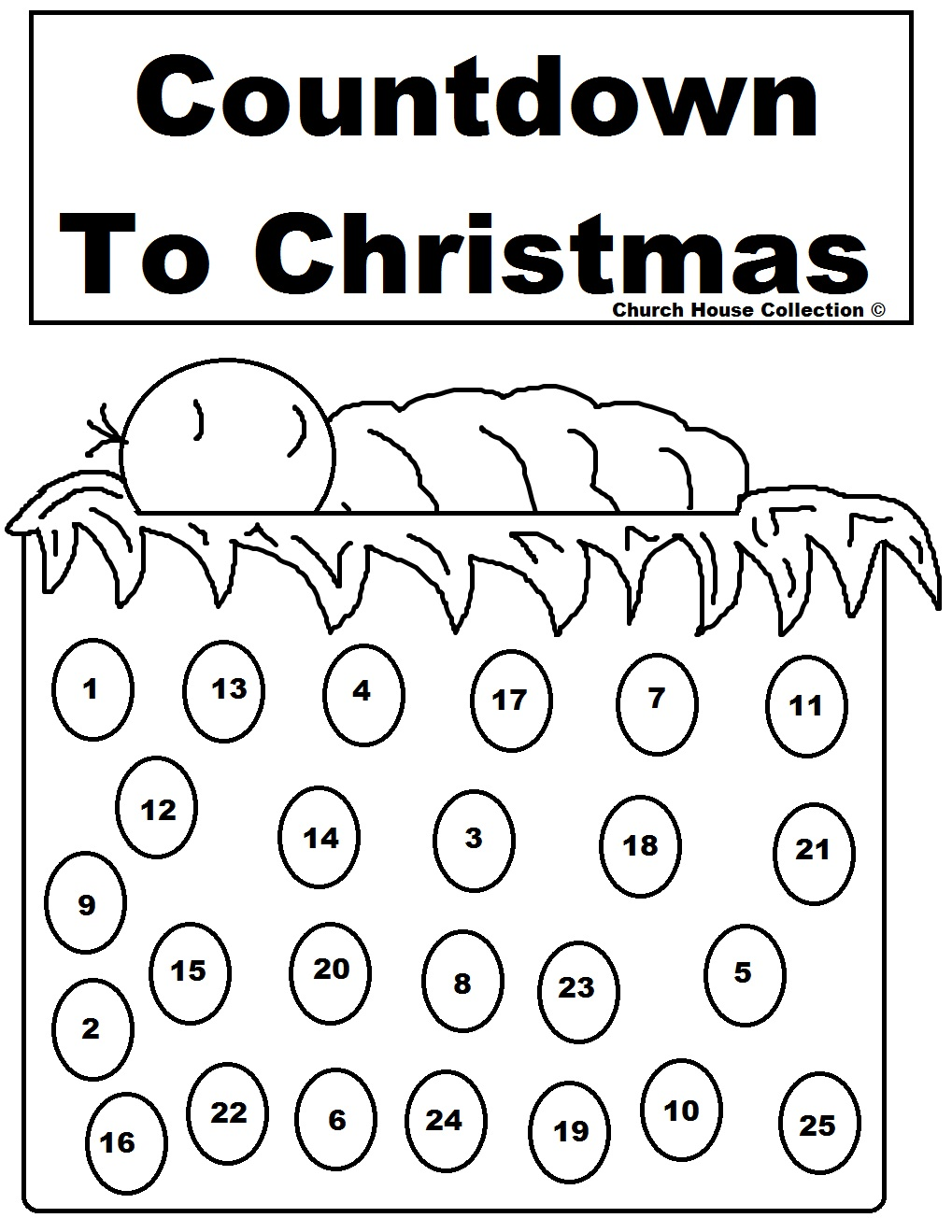 Printable Advent Calendar Color | New Calendar Template Site