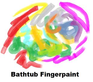 Bathtub Fingerpaint recipe