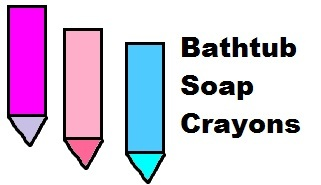 Bathtub Soap Crayons Recipe
