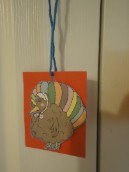 Thanksgiving Turkey Necklace