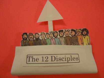 The 12 disciples Crafts