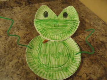 The 10 Plagues of Egypt Frog Craft