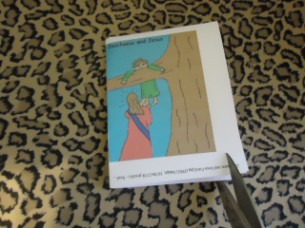 Zacchaeus And Jesus Card Craft