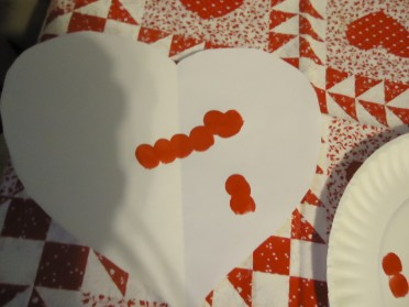 Valentine Thumbprint Crafts