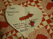 Valentine's Day Sunday school Crafts