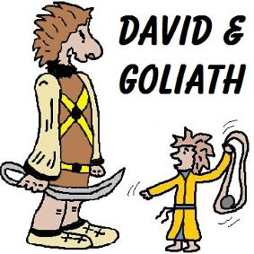 David And Goliath Crafts
