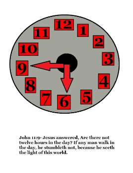 Daylight Savings Time Clock Craft Sunday School