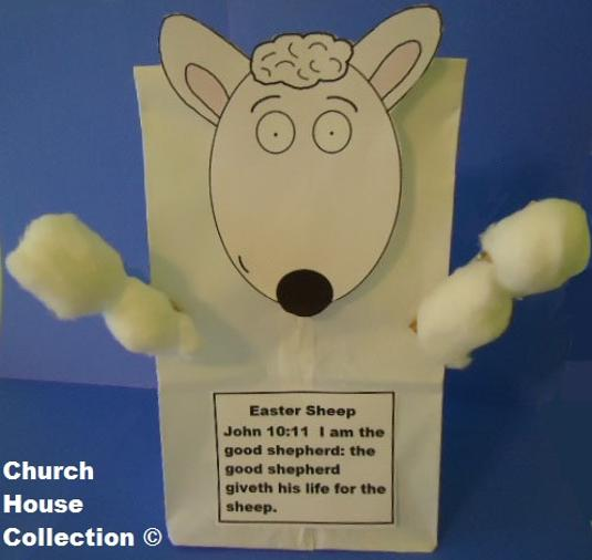 Easter sunday school crafts for kids