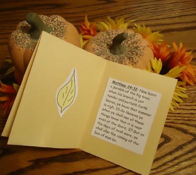 Fall Leaves Carf Craft