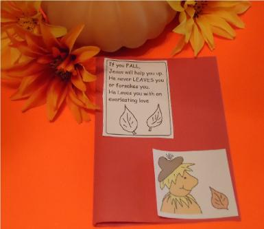 fall sunday school crafts