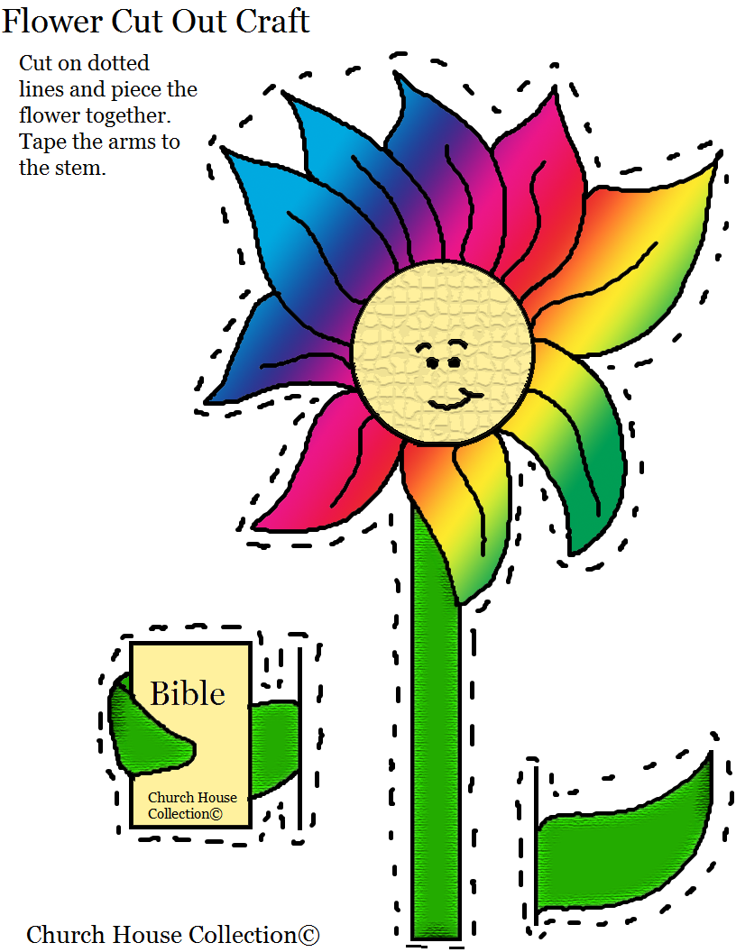 Sunday school crafts for preschool - Bible Crafts For Sunday School Printable Version