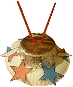 Fourth of July Hat Sunday School Craft | | Sunday School Crafts For The Fourth Of July | Church House Collection | Using a paper plate