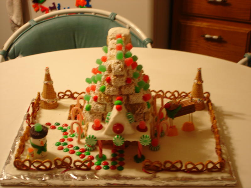 Gingerbread House Craft for Sunday School Children's Church how to make a snowman for a gingerbread house how to make a reindeer
