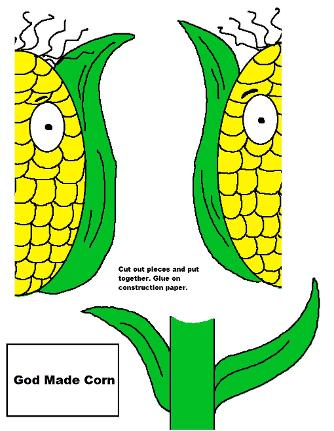 God Made Corn Activity Sheet