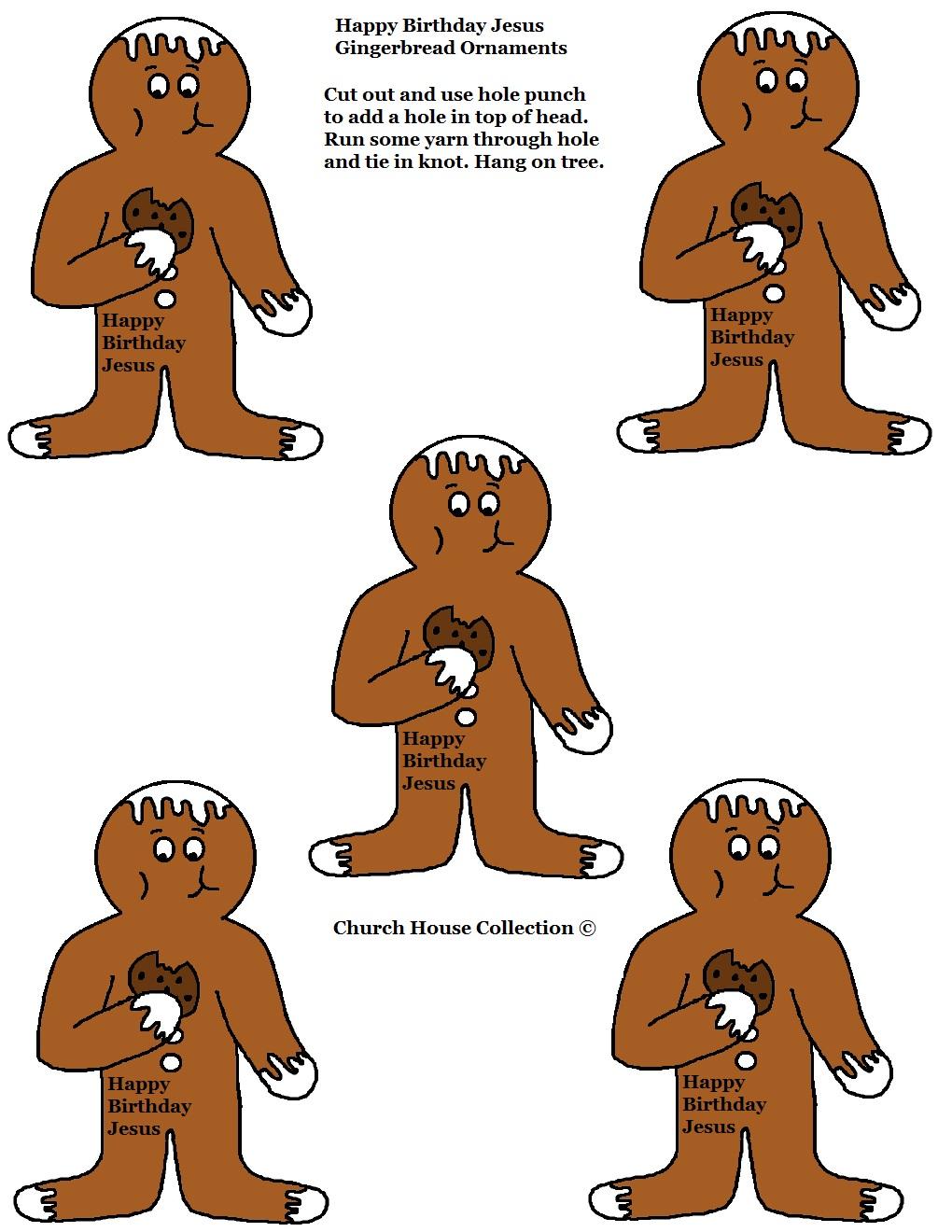 Gingerbread man ornaments - Gingerbread Ornament