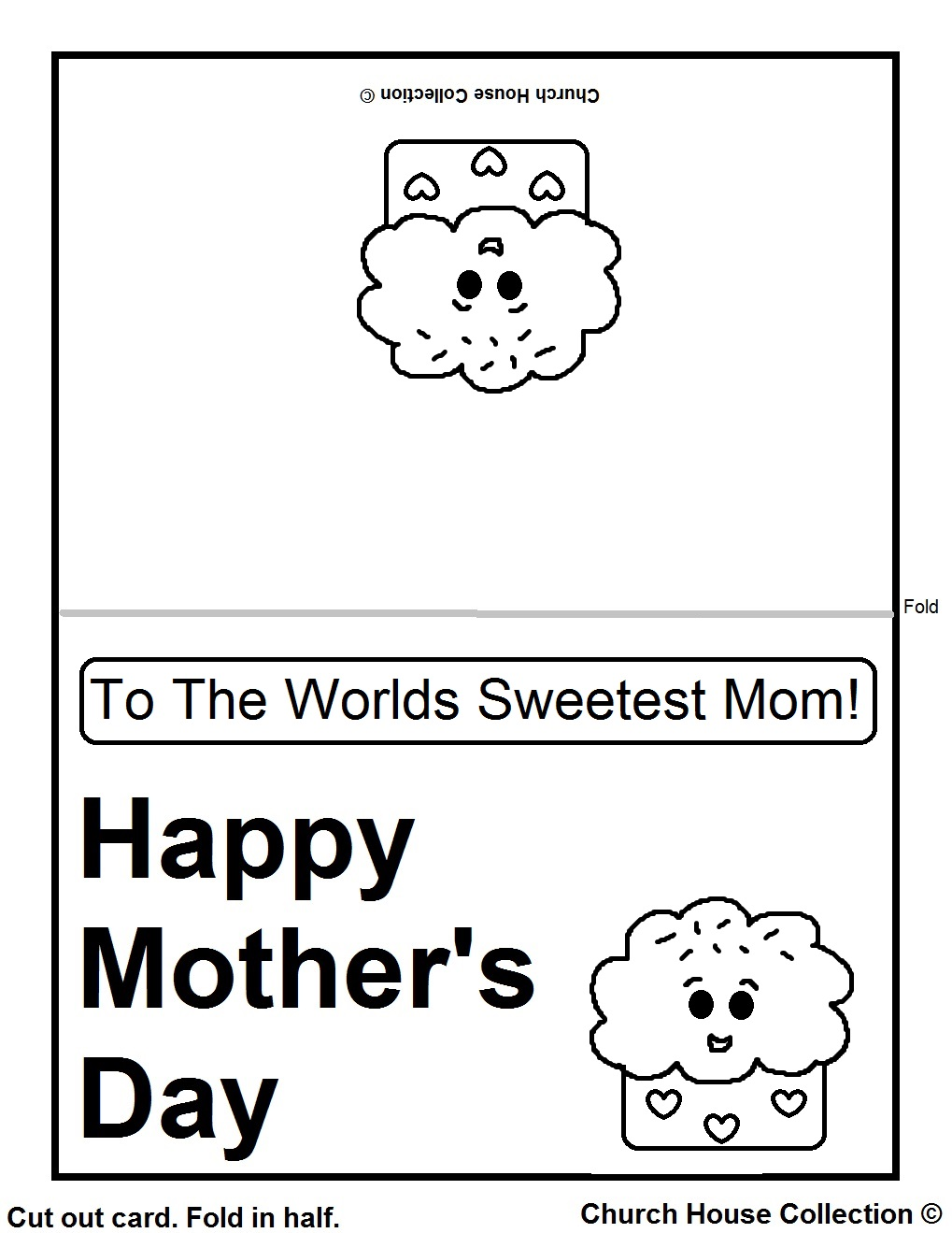 Color cards for kids - Printable Card Colored Or Black And White
