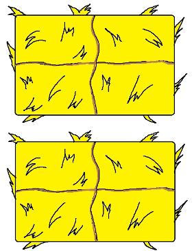 Hay Bale Template