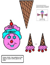 Ice Cream Cone Crafts
