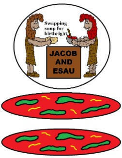 Jacob and Esau Soup Paper Lunch Bag Craft