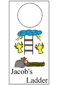 Jacob 39 s Ladder Doorknob Hanger