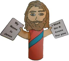 Bible Card Board Roll Crafts | Jesus Bible Toilet Paper Roll Craft
