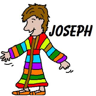 Joseph and the coat of many colors crafts