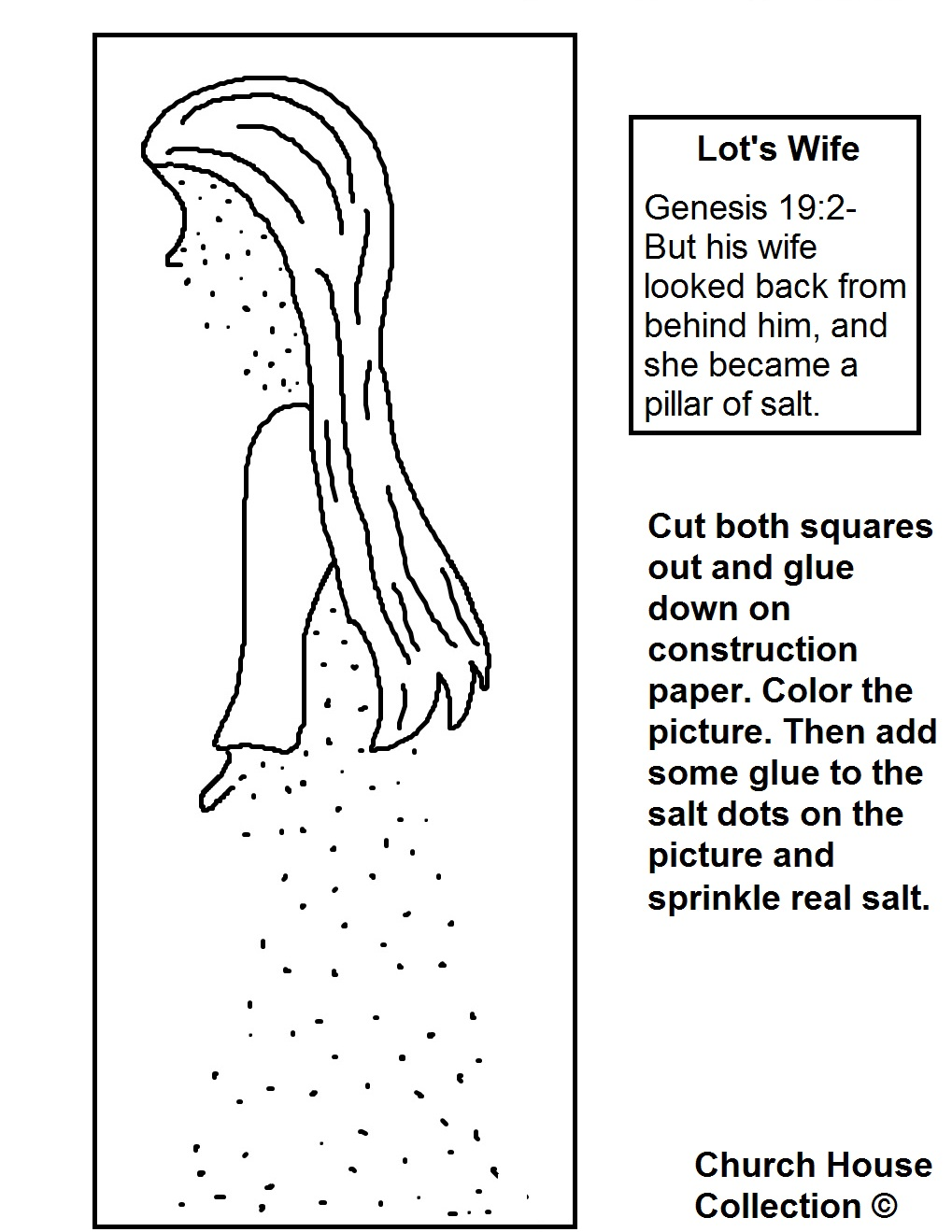 lot u0026 39 s wife pillar of salt craft