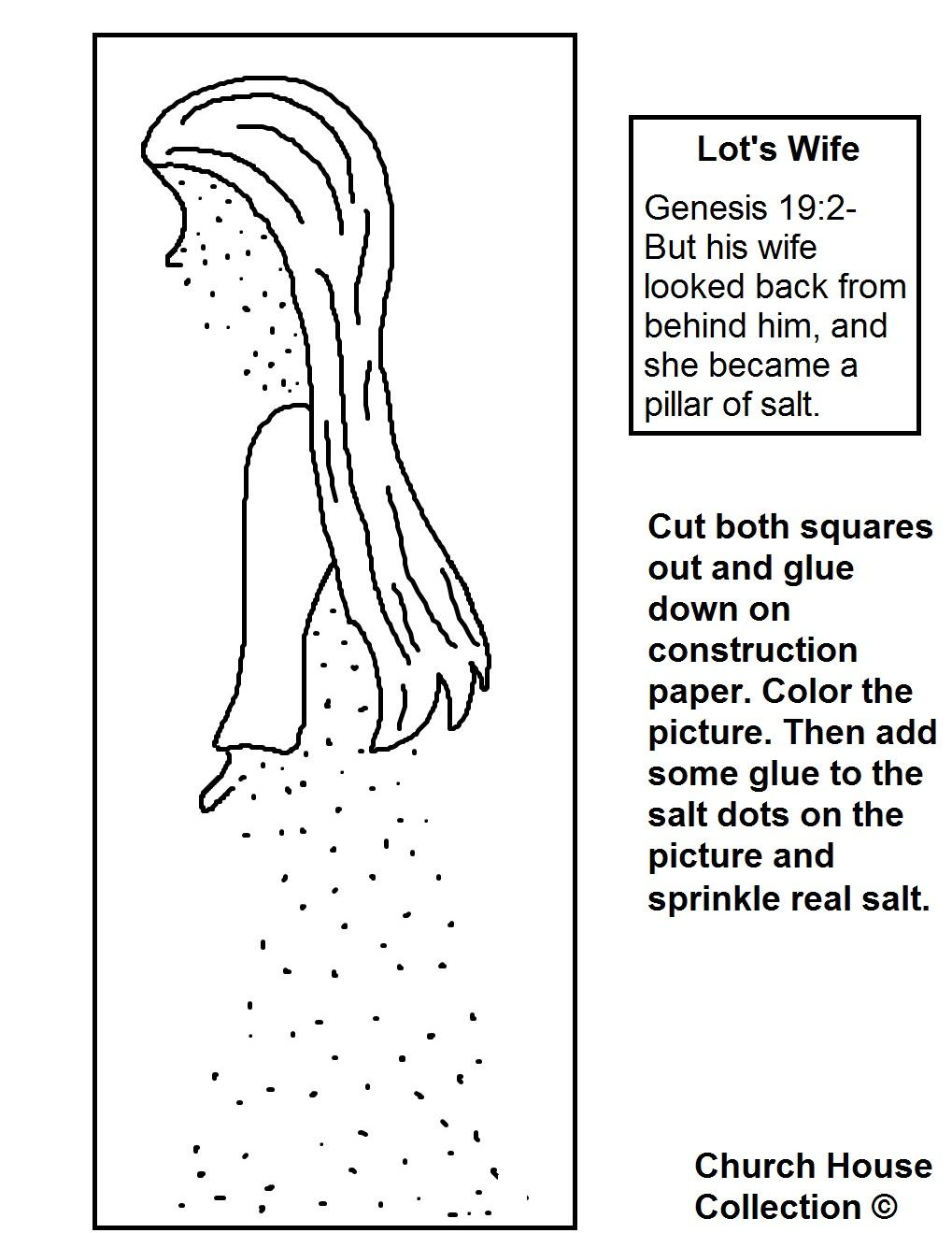 Lot 39 s Wife Pillar of Salt Craft
