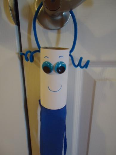 March Wind Sock Craft