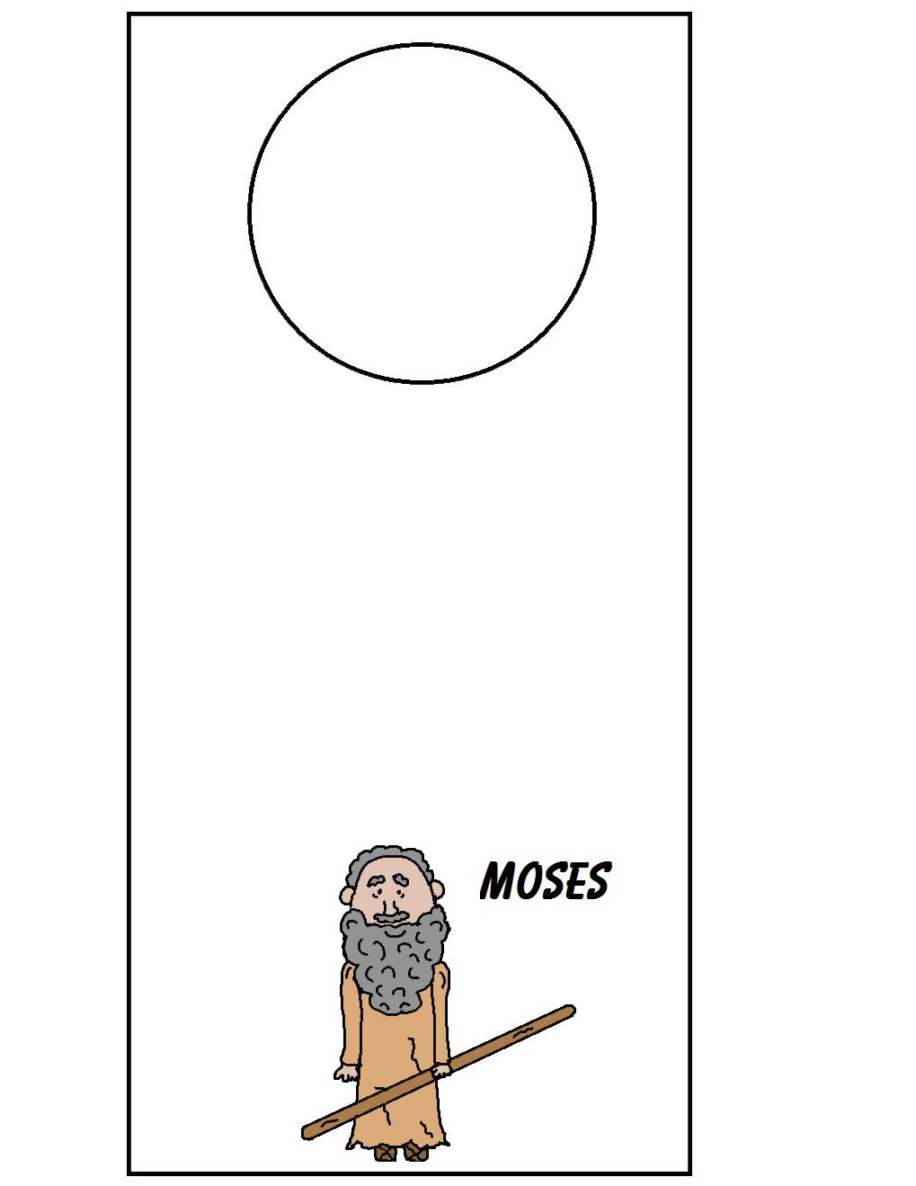 Moses Doorknob Hanger
