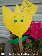 Mother's Day Plant Stake Craft