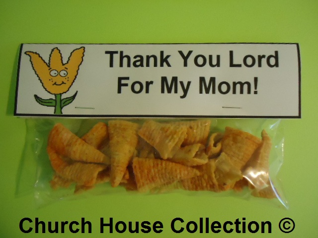 Mother's Day Thank You Lord For My Mom Snack