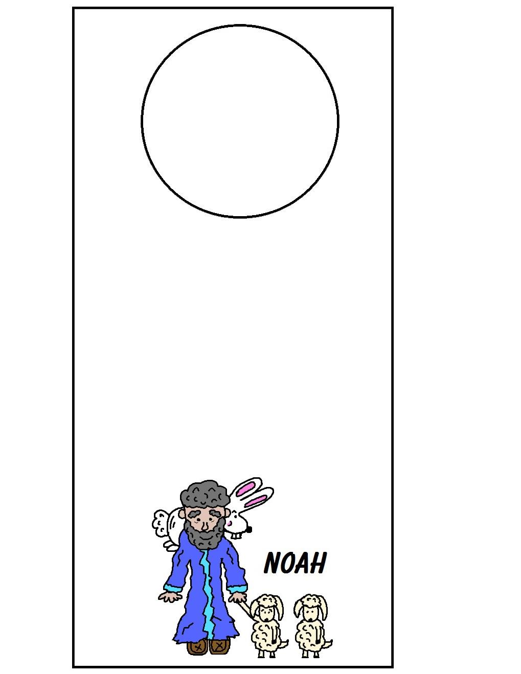 noah u0027s ark doorknob hanger