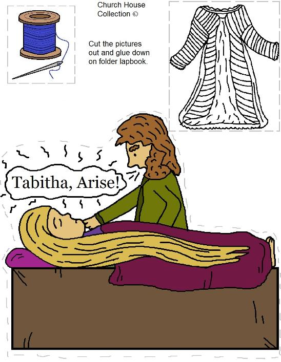 Tabitha Raised From The Dead Template Needle and Thread Coat