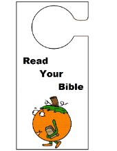 Pumpkin Carrying His Bible