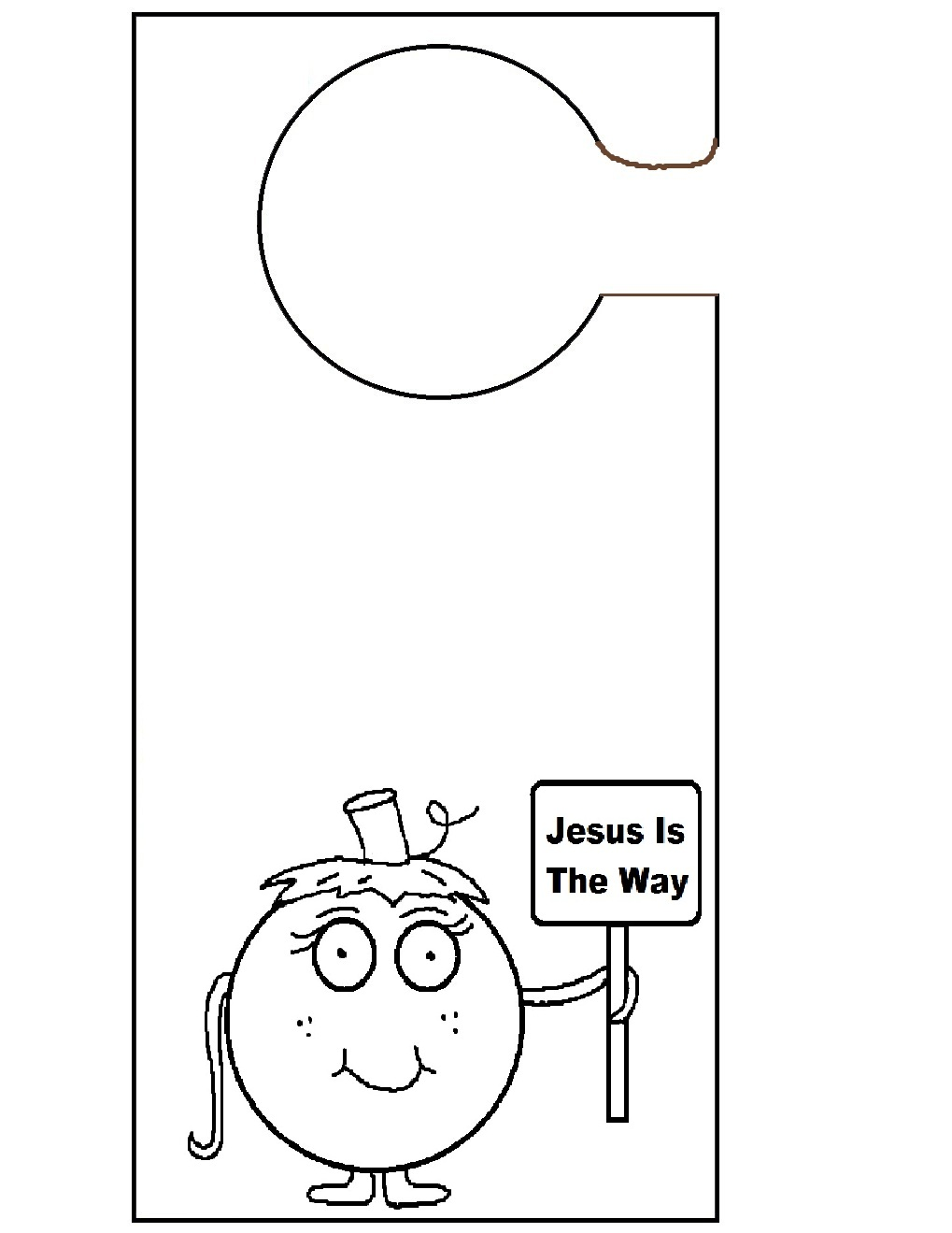 Free Classroom Door Coloring Pages
