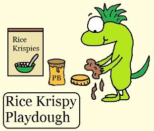 rice krispy playdough recipe