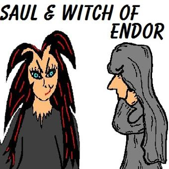 Saul and The Witch of Endor Crafts