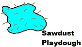How to make Sawdust Playdough