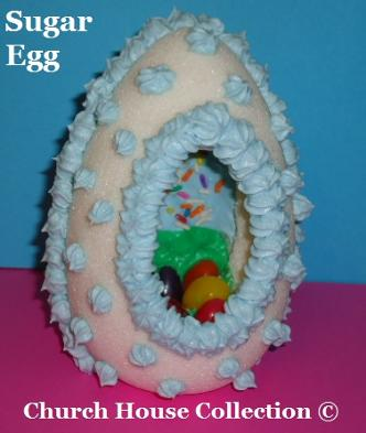 Easter Sunday School Crafts For Kids | Church House Collection | DIY How to make Sugar Eggs for Sunday School or Children's Ministry church | Sugar Egg Tutorial Directions DIY