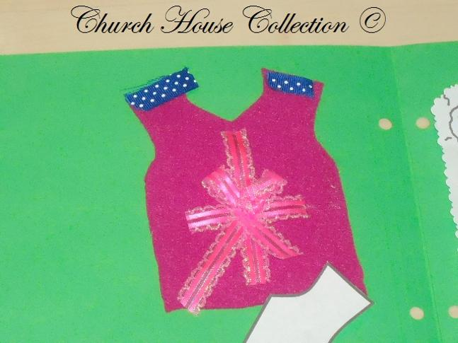 Tabitha raised from the dead lapbook felt shirt cut out sunday school lapbooks Peter Dorcas