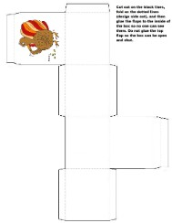 Turkey box Template