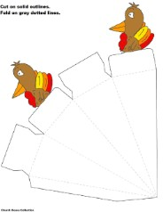 Turkey Cone Template