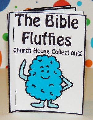 The Bible Fluffies Mini Booklet Free Printable For Kids in Sunday School