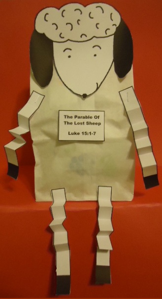 The Parable Of The Lost Sheep Crafts