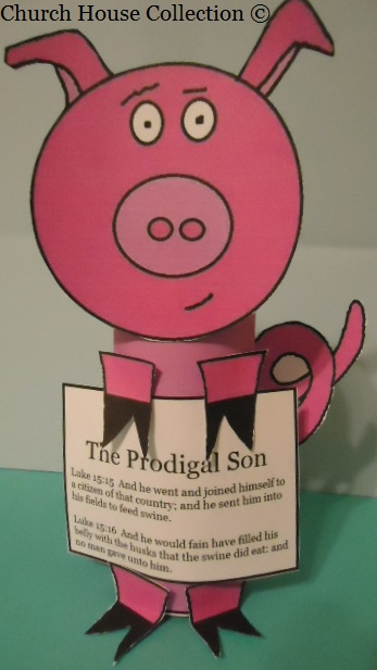 crafts for the prodigal son bible story